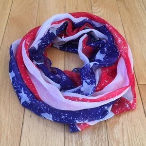 Accessories - Patriotic Infinity Scarf